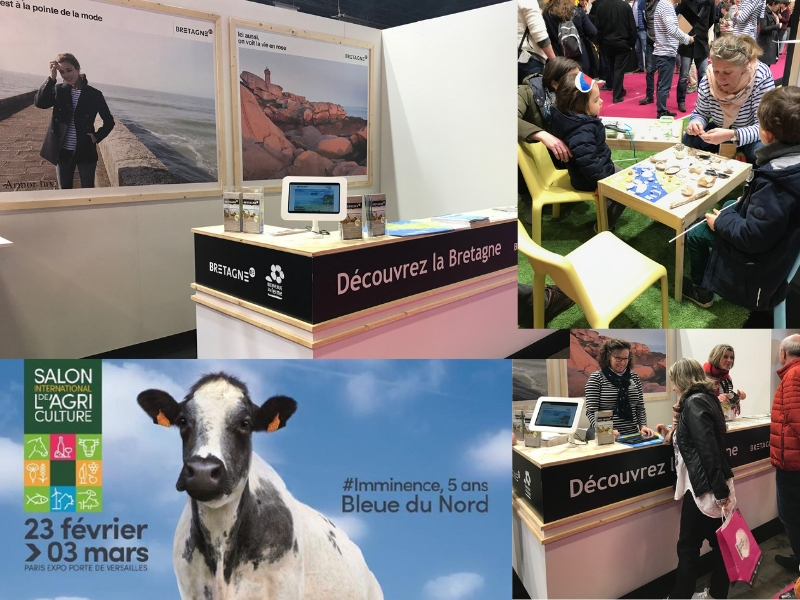 Bilan Tourisme Bretagne au Salon International de l'Agriculture 2019