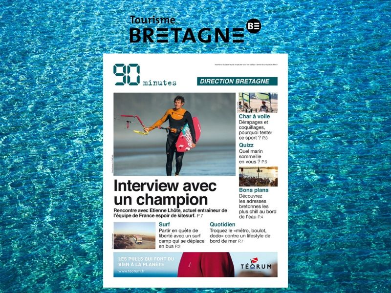 Un journal 100% Bretagne à l'occasion du salon Nautic de Paris